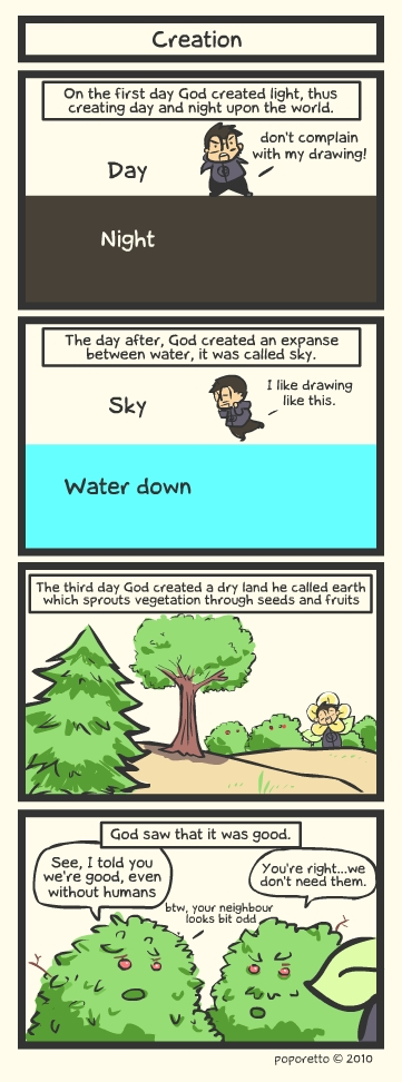 Genesis Bible Comic – Creation