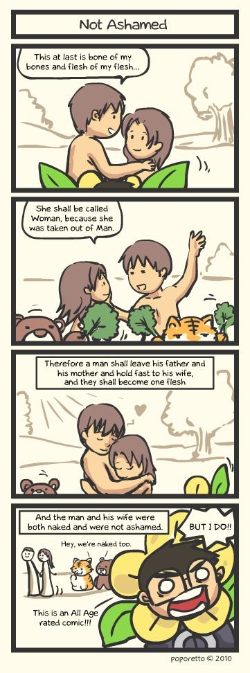 Genesis Bible Comic – Not Ashamed