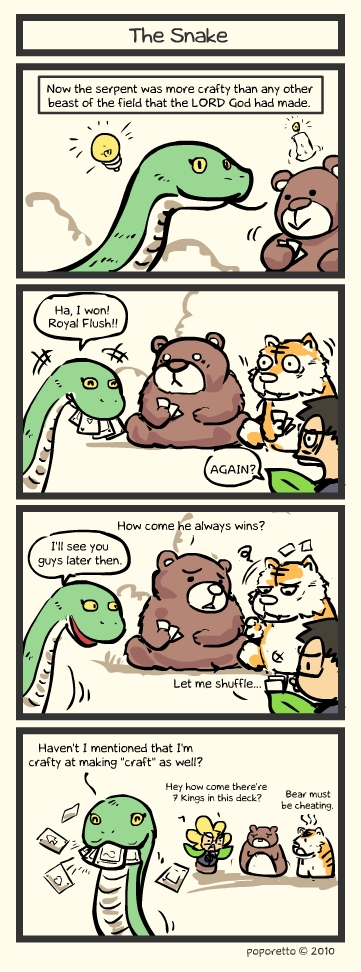 snake comic strip