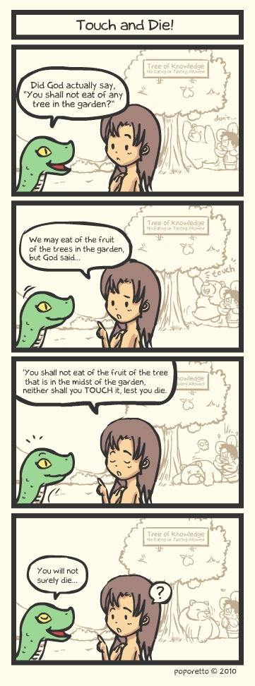 Genesis Bible Comic – Touch And Die