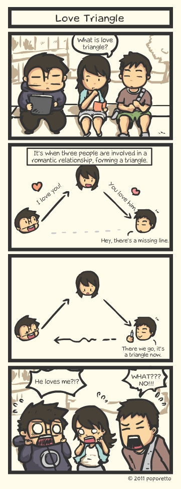 how to survive a love triangle