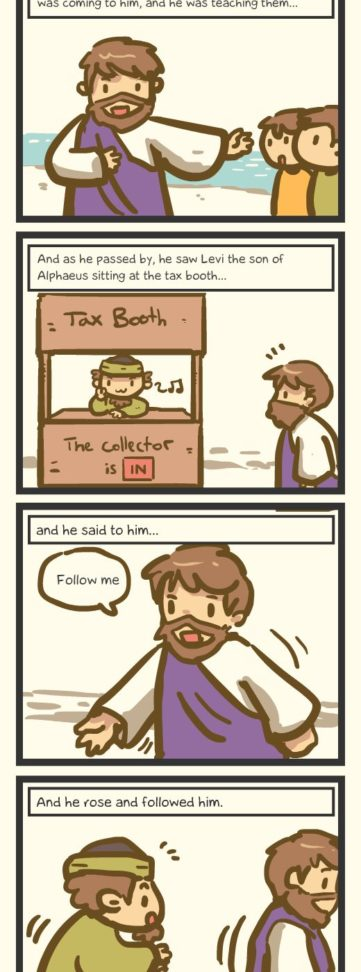 Book of Mark – The Tax Collector