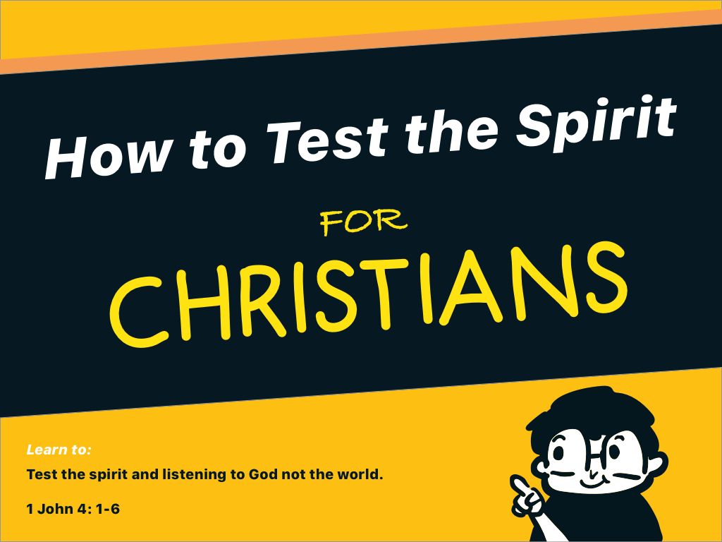 how to test the spirit for dummies