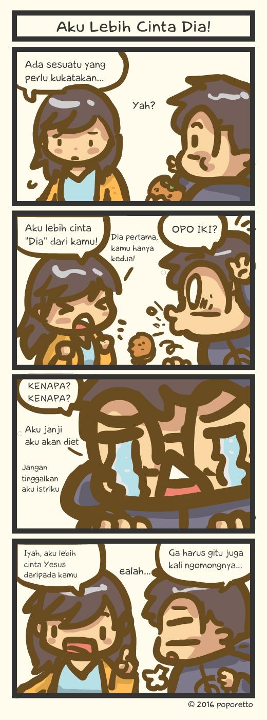 TAT Comic – Aku Lebih Cinta Dia!